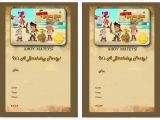 Jake and the Neverland Pirates Birthday Invitations Printable Jake and the Never Land Pirates Birthday Invitations