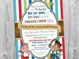 Jake and the Neverland Pirates Birthday Invitations Printable Jake and the Neverland Pirates Birthday Invitation Printable
