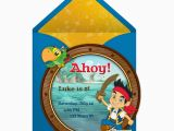 Jake and the Neverland Pirates Birthday Invitations Printable Jake and the Neverland Pirates Birthday Invitations