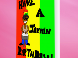 Jamaican Birthday Cards Jammin Birthday Card Mixed with Love
