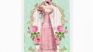 Jane Austen Birthday Card Jane Austen Regency Card Birthday Card Pretty Friendship