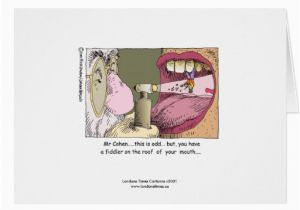 Jewish Birthday Cards Funny My Dentist Greeting Card Zazzle