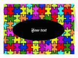 Jigsaw Puzzle Birthday Card 39 Colorful Jigsaw Puzzle 39 Greeting Card Zazzle