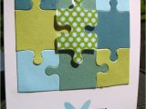Jigsaw Puzzle Birthday Card 8 Best Cards with Puzzle Pieces Images On Pinterest