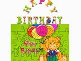 Jigsaw Puzzle Birthday Card Personalised Happy Birthday Jigsaw Puzzles