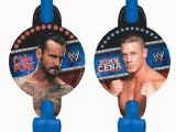 John Cena Birthday Decorations 8 Wwe Wrestling Blowouts Birthday Party Supplies