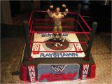 John Cena Birthday Decorations John Cena Inspired Wwe Cake Wwe Wrestlemania Cake