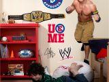 John Cena Birthday Decorations John Cena Wwe Party Giant Wall Decal Ebay