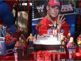 John Cena Birthday Decorations Wwe Party Birthday Party Ideas Photo 1 Of 3 Catch My Party