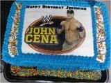 John Cena Birthday Decorations Wwe Wrestling John Cena Cake by Www Jennjinscupcakes Com