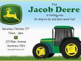 John Deere Birthday Card John Deere Birthday Invitations