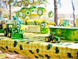 John Deere Birthday Decorations Kara 39 S Party Ideas John Deere Tractor Birthday Party