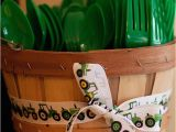 John Deere Birthday Decorations Tractor Party Max is 3 Chickabug