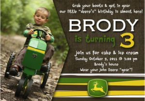 John Deere Birthday Invitation Templates Free Best 20 Tractor Invitations Ideas On Pinterest
