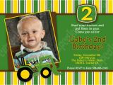 John Deere Birthday Invitation Templates Free Free Printable John Deere Printable Birthday Invitations