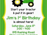 John Deere Birthday Invitation Templates Free John Deere Tractor Birthday Invitation Party Ideas