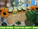 John Deere Birthday Party Decorations John Deere Tractor Birthday Party Food Games Favors More