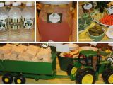 John Deere Birthday Party Decorations John Deere Tractor Birthday Party Food Games Favors