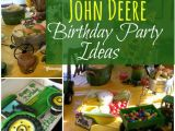 John Deere Birthday Party Decorations John Deere Tractor themed Birthday Party Ideas