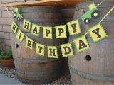 John Deere Happy Birthday Banner Emtsweeetie