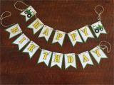 John Deere Happy Birthday Banner John Deere Birthday Banner Tractor Birthday Banner Tractor
