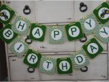 John Deere Happy Birthday Banner John Deere themed Happy Birthday Banner Customizeable