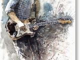 John Mayer Birthday Card Jazz Rock John Mayer 05 Painting by Yuriy Shevchuk