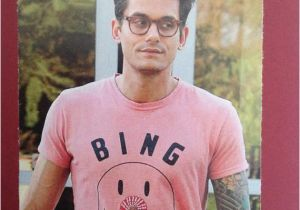 John Mayer Birthday Card John Mayer Hi Douchebag Greeting Card