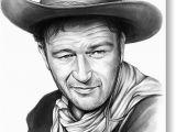 John Wayne Birthday Card John Wayne Greeting Cards for Sale