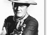 John Wayne Birthday Card John Wayne In the Man who Shot Liberty Valance Greeting