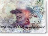 John Wayne Birthday Card John Wayne Photograph by Ericamaxine Price