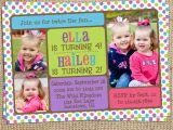 Joint Birthday Invitations for Kids Joint Birthday Invitations for Kids Lijicinu E2455ef9eba6