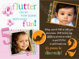 Joint Birthday Invitations for Kids Joint Birthday Party Invitations Bagvania Free Printable