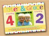 Joint Birthday Invitations for Kids Joint Party Cute Idea for the Kids Pinterest