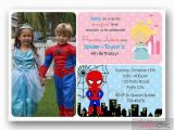 Joint Birthday Invitations for Kids Party Invitations Simple Design Joint Birthday Party
