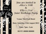 Joint Birthday Party Invitations for Adults Joint Birthday Party Invitations for Adults Birthday