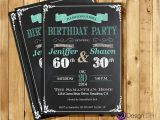 Joint Birthday Party Invitations for Adults Joint Birthday Party Invitations for Adults Cimvitation