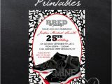 Jordan Birthday Invitations 16 Best Images About Jordan theme Party On Pinterest