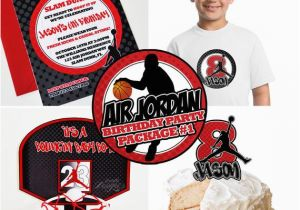 Jordan Birthday Invitations Air Jordan Birthday Party You Print Air Jordan Invitation