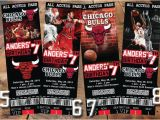 Jordan Birthday Invitations Nba Chicago Bulls Birthday Party Invitations Basketball