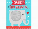 Jumbo Birthday Cards Hallmark Elephant Jumbo Spanish Language Valentine 39 S Day Card 19