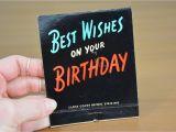 Jumbo Birthday Cards Hallmark Jumbo Birthday Hallmark Greeting Card Matchbook