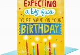 Jumbo Birthday Cards Hallmark Make A Fuss Cake Decoration Jumbo Birthday Card 16
