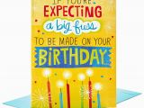 Jumbo Birthday Cards Hallmark Make A Fuss Cake Decoration Jumbo Birthday Card 16