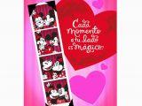 Jumbo Birthday Cards Hallmark Mickey Minnie Spanish Language Jumbo Valentine 39 S Day