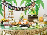 Jungle Decorations for Birthday Party Safari Jungle themed First Birthday Party Part Iii Diy