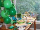 Jungle Decorations for Birthday Party the Clueless Chick Rumble In the Jungle 2nd Birthday Party