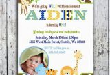 Jungle themed 1st Birthday Invitations 17 Safari Birthday Invitations Design Templates Free