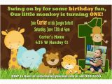 Jungle themed 1st Birthday Invitations 17 Safari Birthday Invitations Design Templates Free