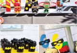 Justice League Birthday Decorations 10 Amazing Birthday Parties for Boys Spaceships and